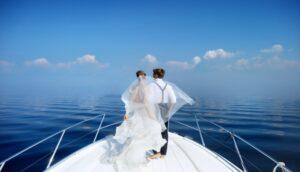 Yachts pour un mariage VIP